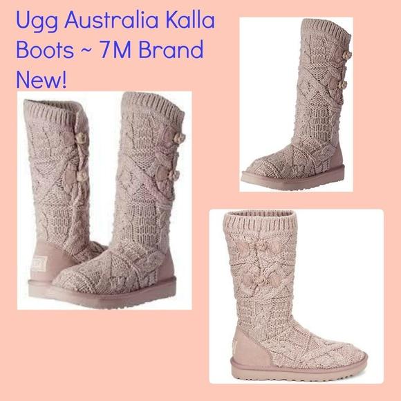 1e5832d6e5b Ugg Australia Dusk Kalla Boots 7 Brand New NWT